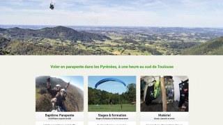 Surfair, parapente dans les Pyrénées