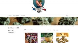 Frenchkush, fleurs de CBD légal