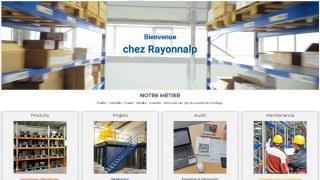 Rayonnalp, rayonnage industriel